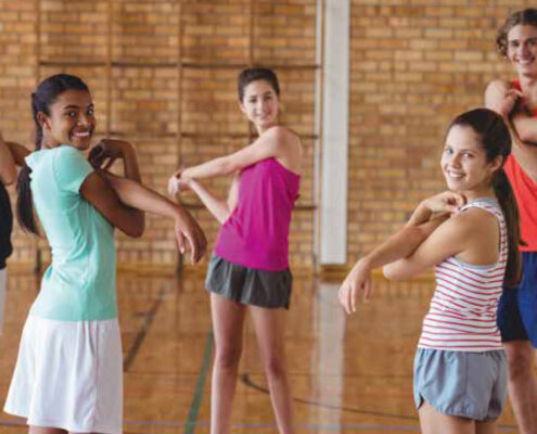 LEADING PHYSICAL ACTIVITY FOR ADOLESCENTS